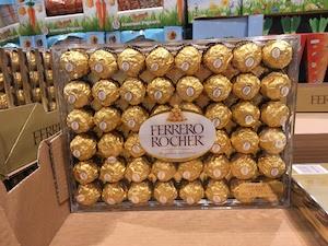 アメリカCOSTCOのへーゼルナッツチョコレート