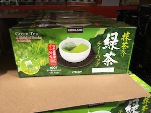 アメリカCOSTCOの伊藤園緑茶ティーバッグ