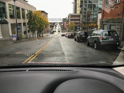 アメリカでのドライブ風景