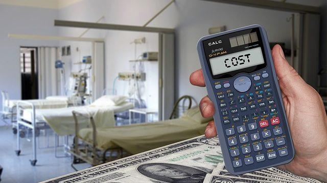 病院の医療費コスト