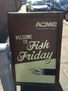 NYスモークサーモンFish Friday