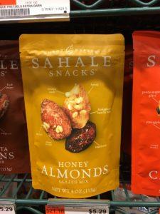 SAHALEのナッツ
