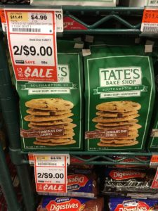 Tate'sのクッキー