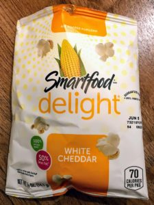 Smartfoodのホワイトチェダーポップコーン