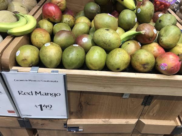 ホールフーズのマンゴー
